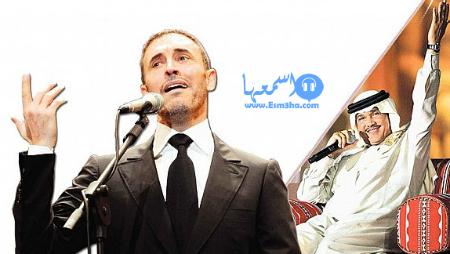 سر سعادتي محمد عبدة وكاظم الساهر
